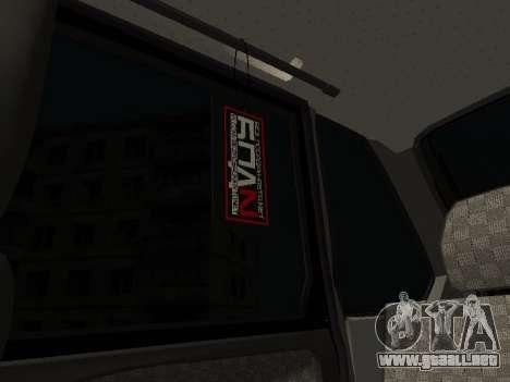 VAZ 2114 para la vista superior GTA San Andreas