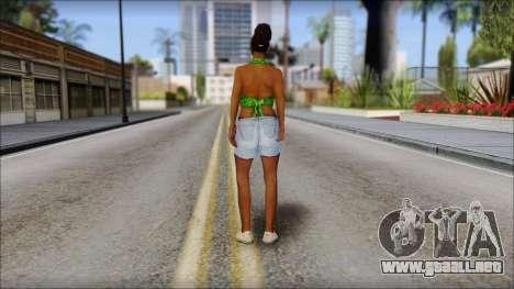 Kendl Skin para GTA San Andreas segunda pantalla
