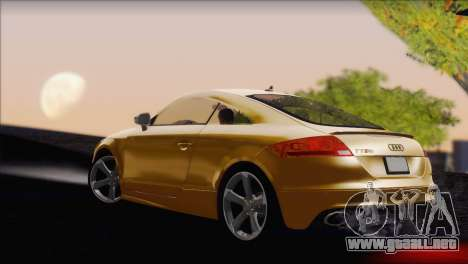 Audi TT RS v2 2011 para GTA San Andreas left