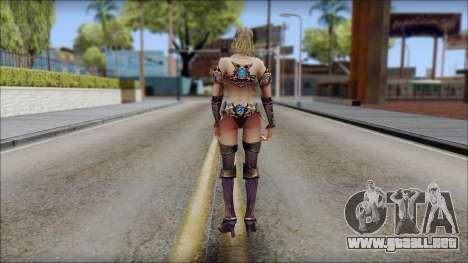 Elementalist from Soul of the Ultimate Nation para GTA San Andreas tercera pantalla