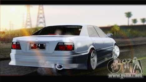Toyota Chaser Tourer Stock v1 1999 para GTA San Andreas left
