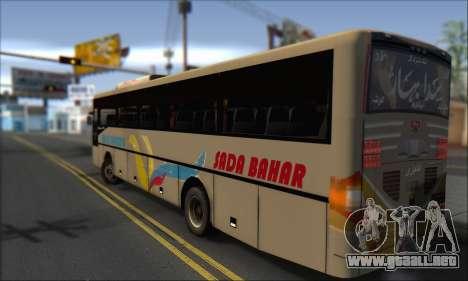 Sada Bahar Coach para GTA San Andreas left