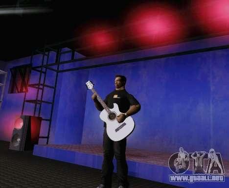 Canciones de Viktor Tsoi guitarra para GTA San Andreas sucesivamente de pantalla