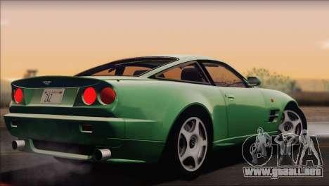 Aston Martin V8 Vantage V600 1998 para GTA San Andreas left