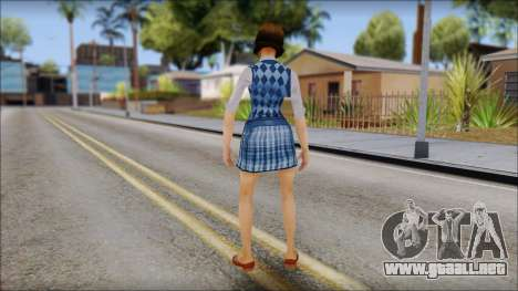 Pinky from Bully Scholarship Edition para GTA San Andreas tercera pantalla