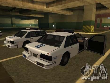 Police Original Cruiser v.4 para GTA San Andreas left