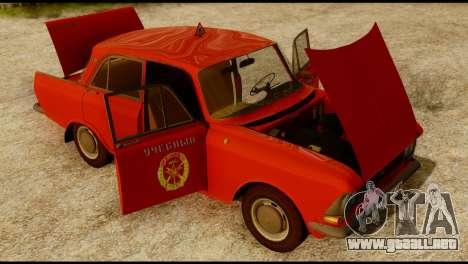 Moskvich U para visión interna GTA San Andreas