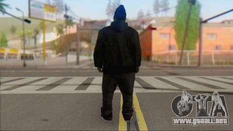Old Gangster para GTA San Andreas segunda pantalla