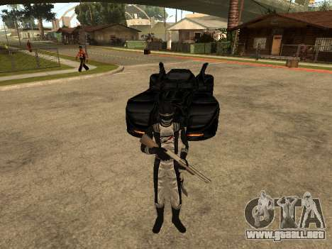 Power Rangers Operation Overdrive para GTA San Andreas sexta pantalla