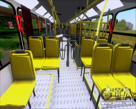 Comil Svelto 2008 Volksbus 17-2 Benfica Diadema para vista lateral GTA San Andreas