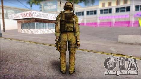 Grinch from Modern Warfare 3 para GTA San Andreas segunda pantalla