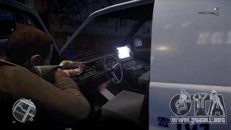 Israel MDA Ambulance para GTA 4 Vista posterior izquierda