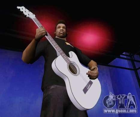 Canciones de Viktor Tsoi guitarra para GTA San Andreas segunda pantalla