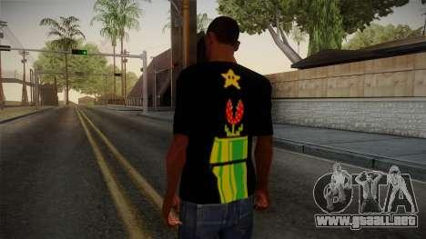 Mario Bros T-Shirt para GTA San Andreas segunda pantalla