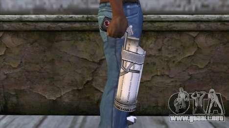 Bottle Gun from Bully Scholarship Edition para GTA San Andreas tercera pantalla