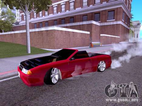 Elegy Cabrio HD para GTA San Andreas left
