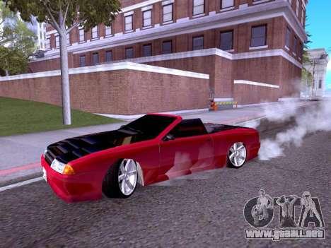 Elegy Cabrio HD para GTA San Andreas left