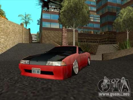Elegy Cabrio HD para visión interna GTA San Andreas