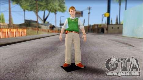 Earnest from Bully Scholarship Edition para GTA San Andreas segunda pantalla