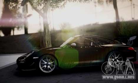 Porsche 911 GT3 RS4.0 2011 para visión interna GTA San Andreas