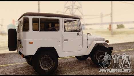 Toyota Land Cruiser (FJ40) 1978 para GTA San Andreas left