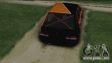 VAZ 2114 Calambres para la visión correcta GTA San Andreas