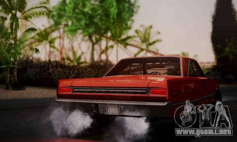 Dodge Coronet 440 Hardtop Coupe (WH23) 1967 para GTA San Andreas left