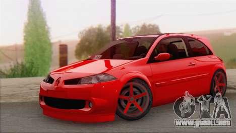 Renault Megane II HatchBack para GTA San Andreas
