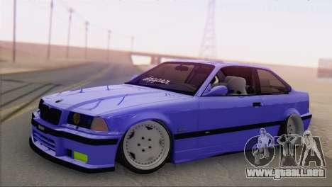 BMW M3 E36 Coupe Slammed para GTA San Andreas