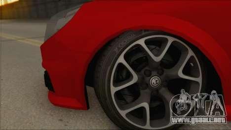 Opel Vectra C para la visión correcta GTA San Andreas