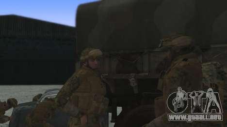 El comandante de la CIT, estados UNIDOS para GTA San Andreas segunda pantalla