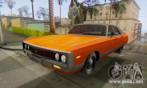 Chrysler New Yorker 1971 para la visión correcta GTA San Andreas