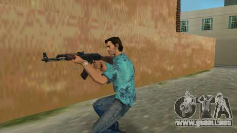 Kalashnikov Tipo 1 para GTA Vice City sucesivamente de pantalla