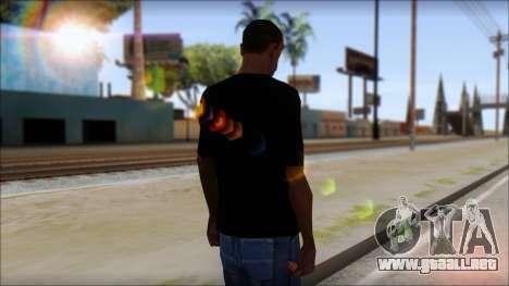 Destroyers T-Shirt Mod para GTA San Andreas segunda pantalla