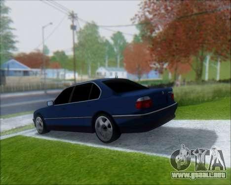 BMW 7 E38 para GTA San Andreas left