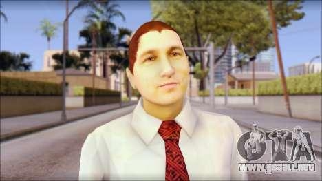 Dean from Good Charlotte para GTA San Andreas tercera pantalla