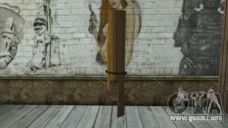Senjata Kentongan Sahur para GTA San Andreas segunda pantalla