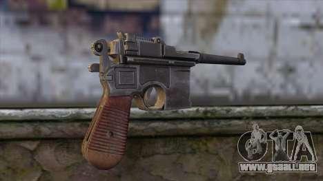 Mauser C-96 para GTA San Andreas segunda pantalla