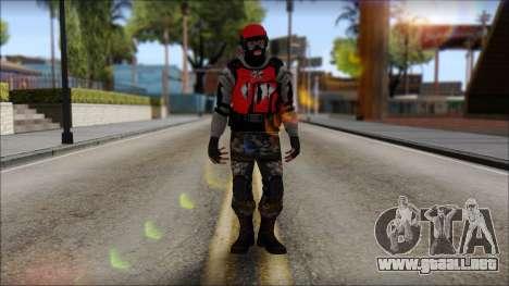 Peng Thug para GTA San Andreas segunda pantalla