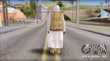 Arabian Skin para GTA San Andreas segunda pantalla
