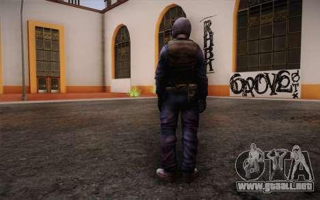 British Riot Police from Killing Floor para GTA San Andreas segunda pantalla
