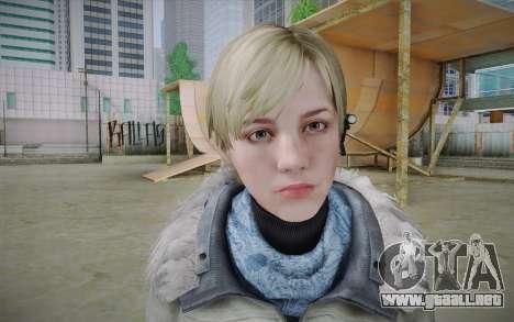 Sherry Birkin Europa from Resident Evil 6 para GTA San Andreas tercera pantalla