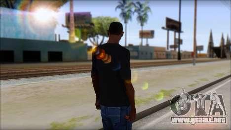 Undertaker T-Shirt v2 para GTA San Andreas segunda pantalla
