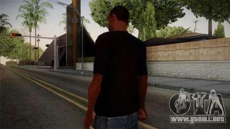 Plants versus Zombies T-Shirt para GTA San Andreas segunda pantalla