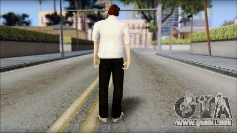 Dean from Good Charlotte para GTA San Andreas segunda pantalla
