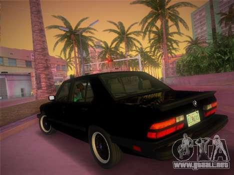 BMW 535i US-spec e28 1985 para GTA Vice City left