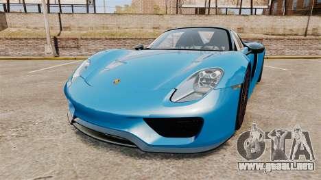 Porsche 918 2013 para GTA 4