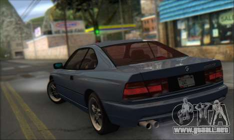 BMW E31 850CSi 1996 para GTA San Andreas left