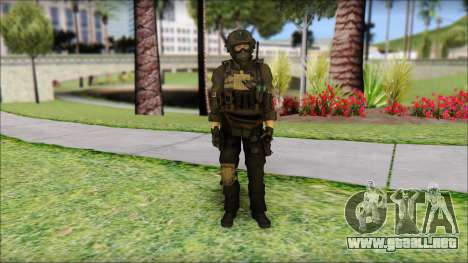 Roach Anderson in Dark Suit from MW2 para GTA San Andreas