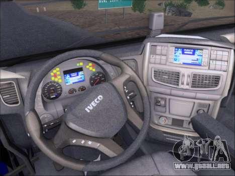Iveco Stralis HiWay 560 e6 4x2 para las ruedas de GTA San Andreas